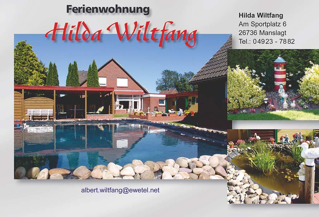 Ferienwohnung Hilda Wiltfang